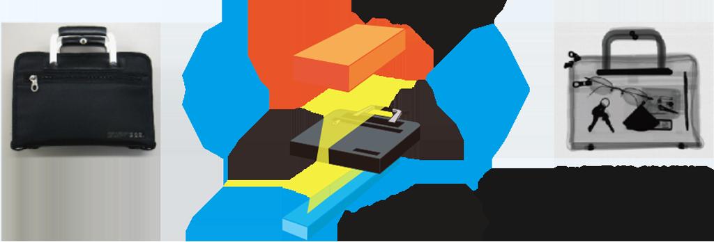 X線検査機の概念図