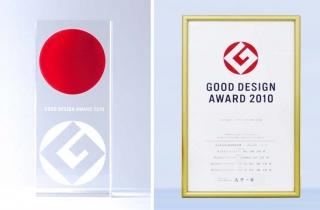 2010年度グッドデザイン賞 「中小企業庁長官賞」受賞(SX2040Wシリーズ)