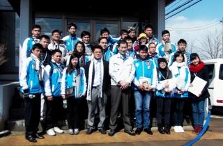 ベトナム大学生が、会社見学に来社されました
