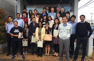国際大学の留学生が、会社見学に来社されました。