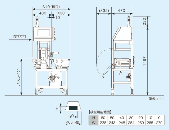 SLS2401LD-C2の外観図