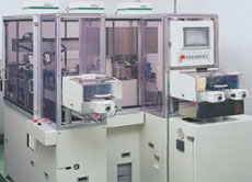 Flatness inspection machine was developed.