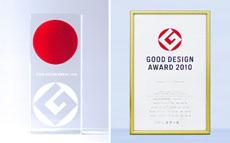 "Good Design Awards<br /> ""Award of Small and Medium Enterprises"", Received.<br /> Japan Industrial Design Promotion Organization"