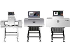 整体防水 X光异物检测机<br /> 发售SX2554W、SX4074W<br /> 金属检测机<br /> 发售 META-HAWK 3<br /> 连包检查用 X光异物检测机<br /> 发售SX2044W<br /> X射线夹包检测机<br /> 发售SXS2154C1D